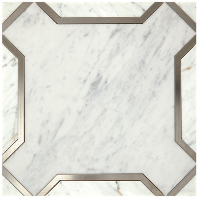Nouveau White & Titanium