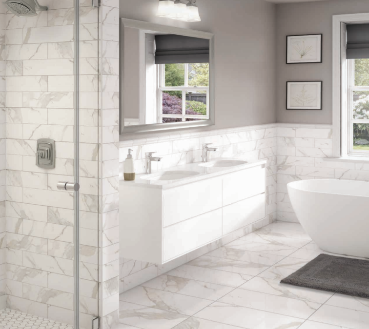 WHITE MARBLE PORCELAIN COLLECTION™