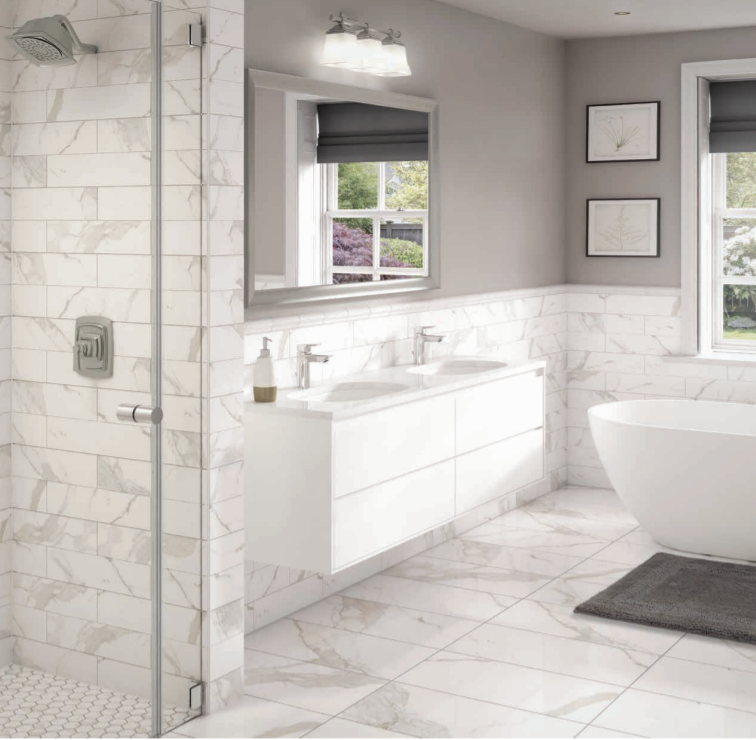 White Marble Porcelain Collection The Masonry Center Inc
